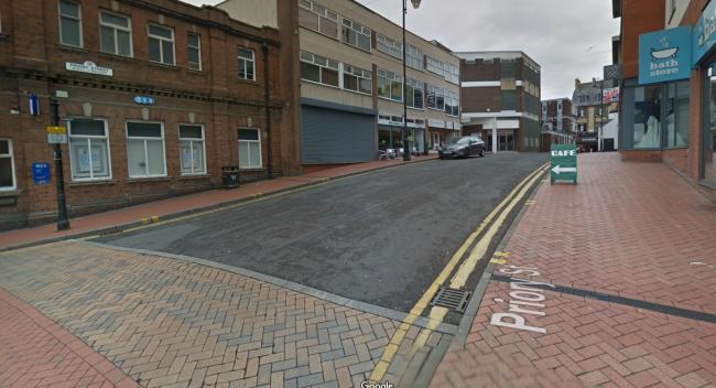 Priory Street, Wrexham. Picture: Google