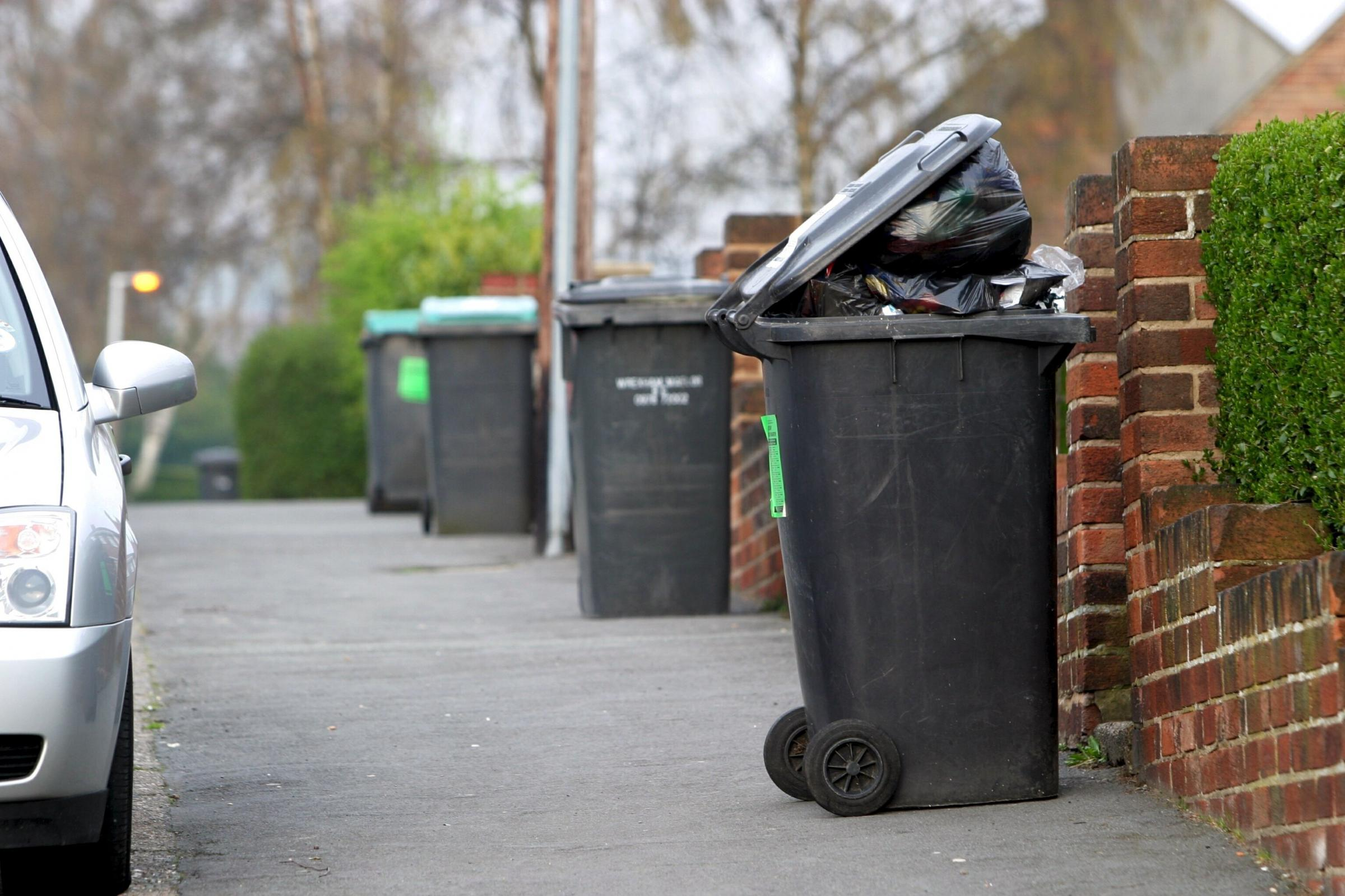 Missed bin collections remain number one cause of complaints against Wrexham Council