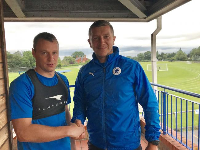 Gary Roberts and joint Chester boss Anthony Johnson