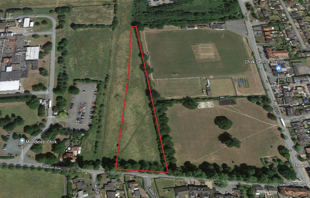 Bid to increase number of houses on successful appeal site in Chirk looks set for approval