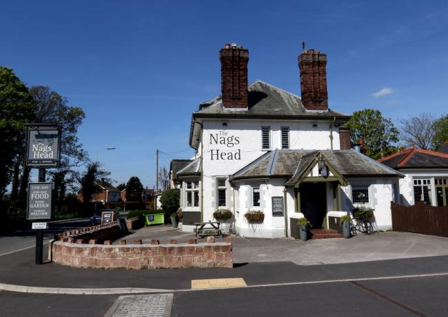 The Nags Head in Lavister