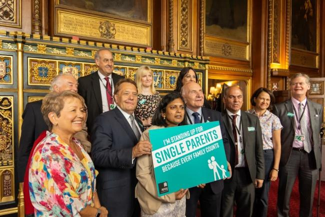 David Hanson MP attended the Speaker's House to celebrate Day of the Single Parent Family.