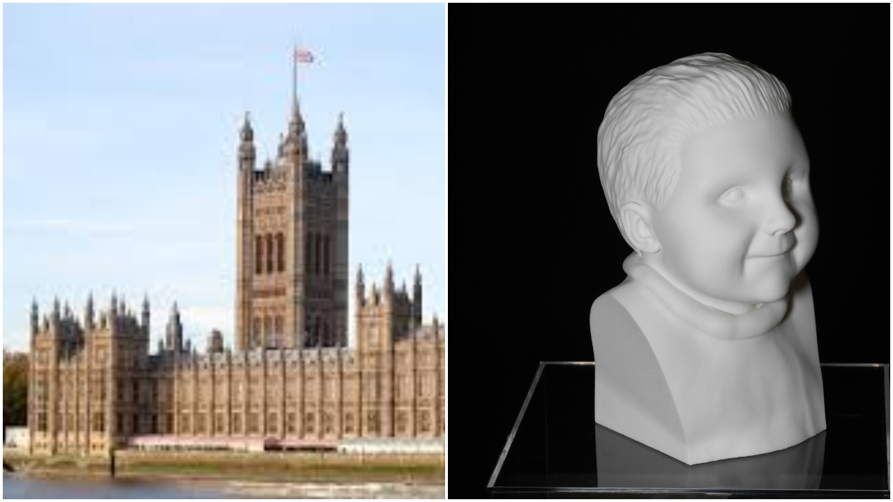 North east Wales based charity founder holds exhibition raising awareness of rare disease and disability at Houses of Parliament