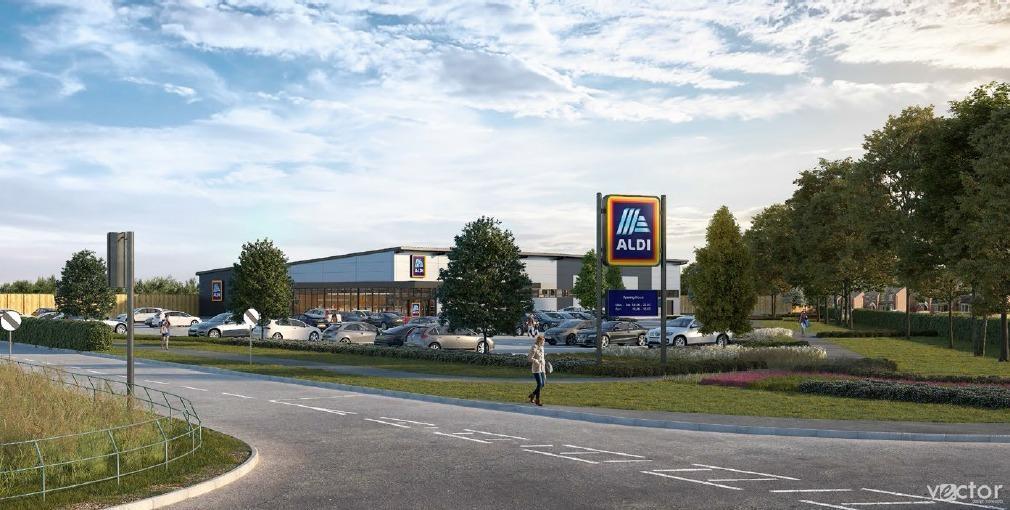 New Aldi supermarket
