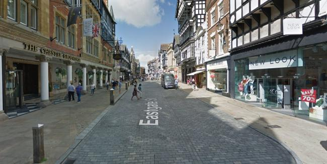 Eastgate Street, Chester. Picture: Google Street View.
