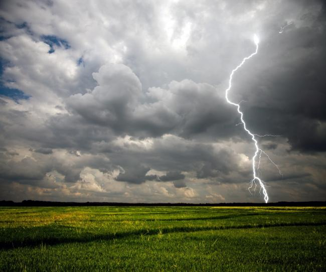 Thunderstorms are set to hit Flintshire, Wrexham and much of the UK.