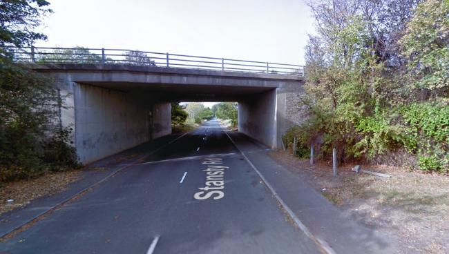 Stansty Road, Wrexham, pictured close to the A483. Image: Google