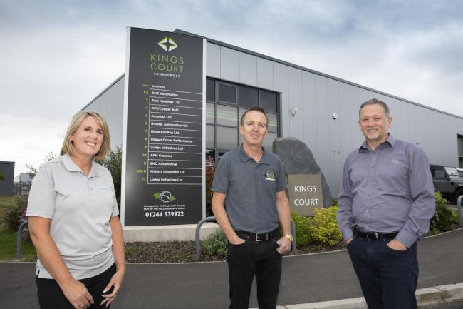 New £4m industrial estate in Deeside now fully let, securing 150 jobs in the area