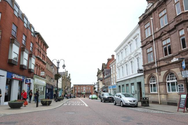 Wrexham High Street