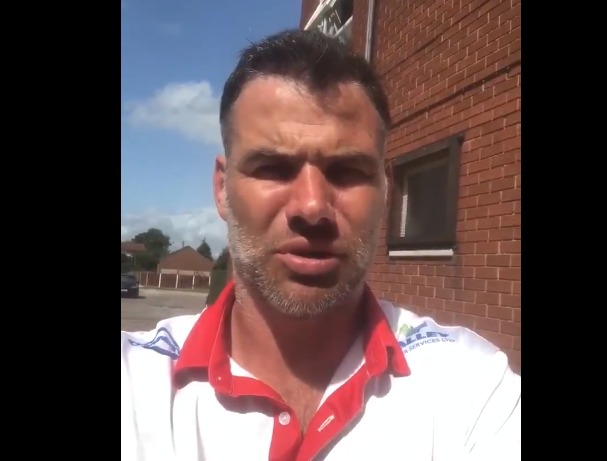 Welsh rugby star sends speedy recovery message to Wrexham PC