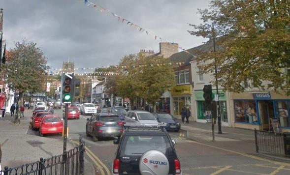 Mold Town Centre. Image: Google