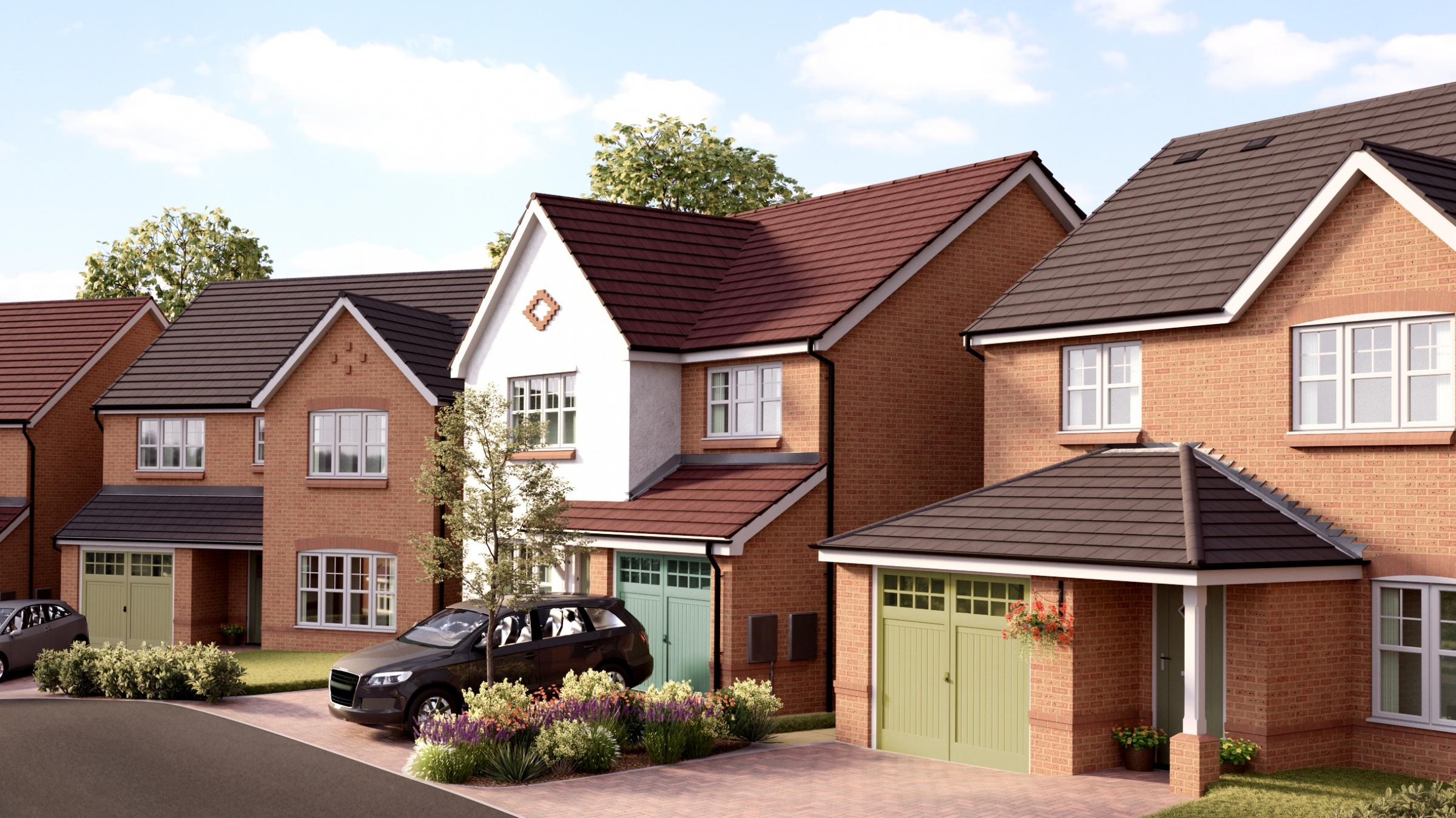 Work starts on building 59 new homes in Mold