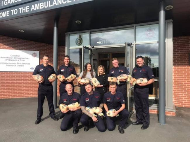 The bakery has rewarded North Wales, Shropshire and Cheshire fire services by delivering free bread to their stations.