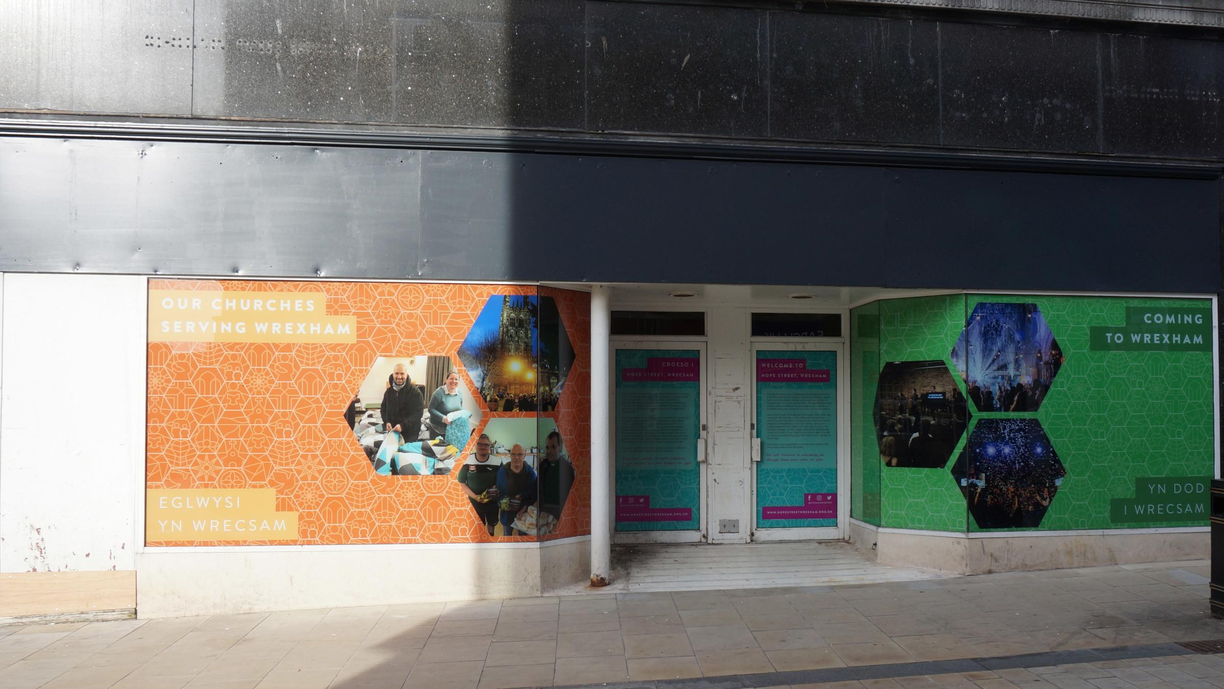 New window displays for former Burton store as refurbishment gets underway
