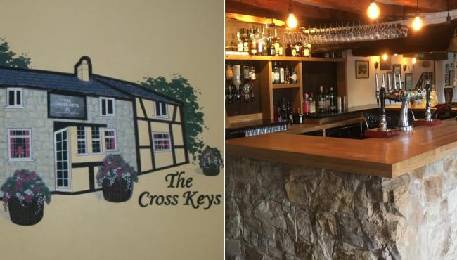 The Crosskeys Pub in Llanfynydd, Flintshire. (Source Paul Koffman)