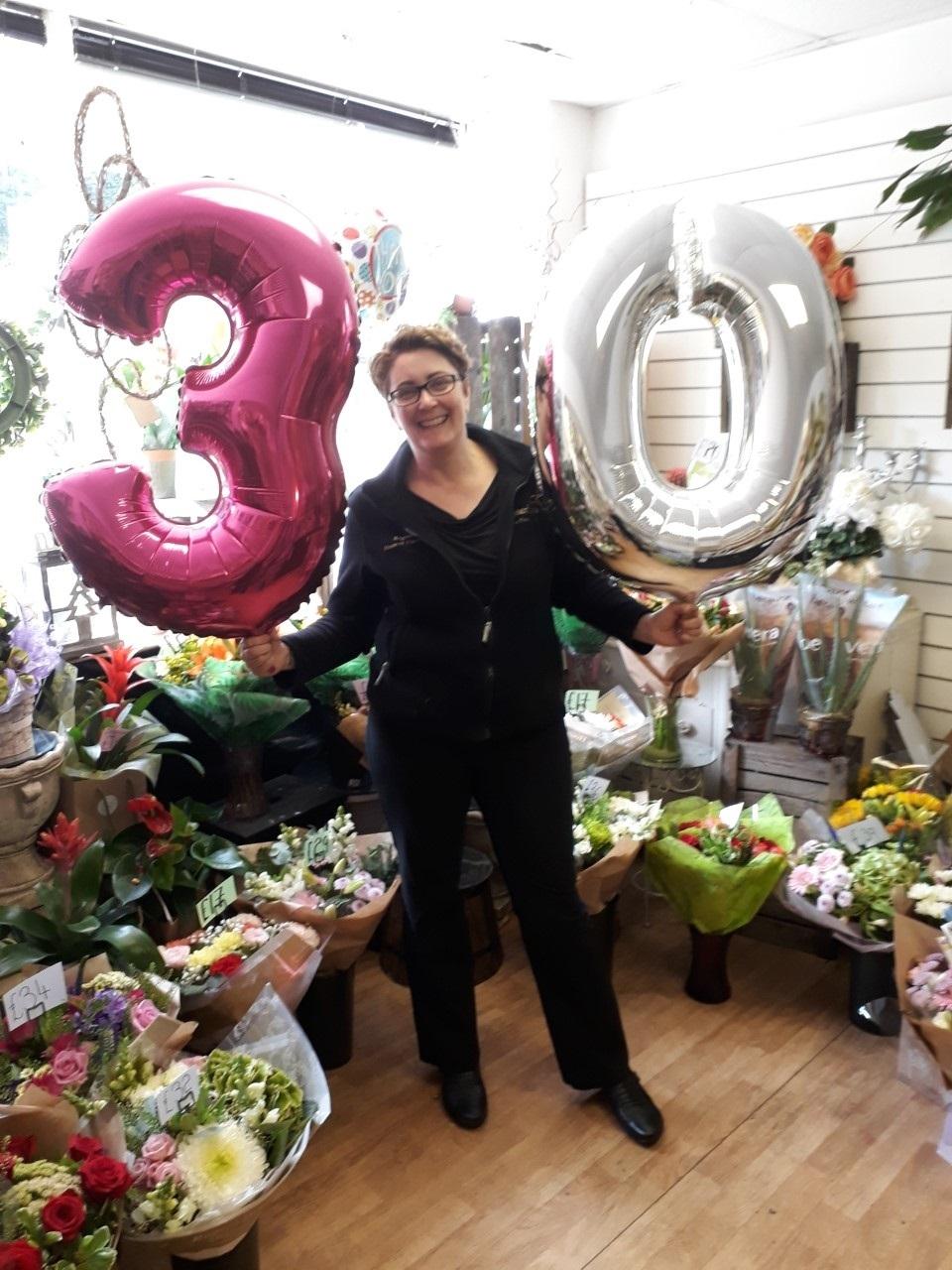 Wrexham florist to celebrate milestone with 30 mile charity swim