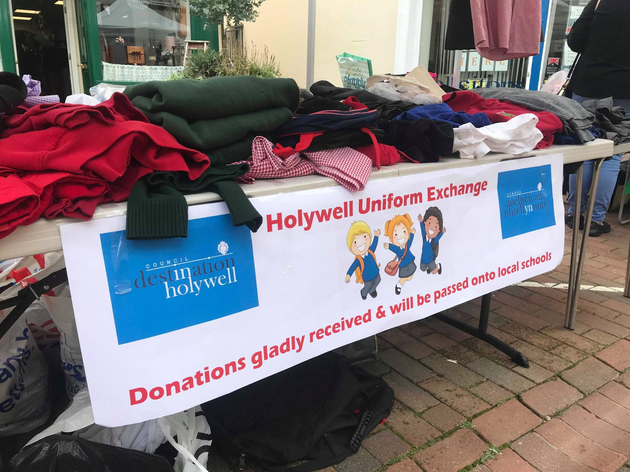 School uniform market stall to return over half term holiday's