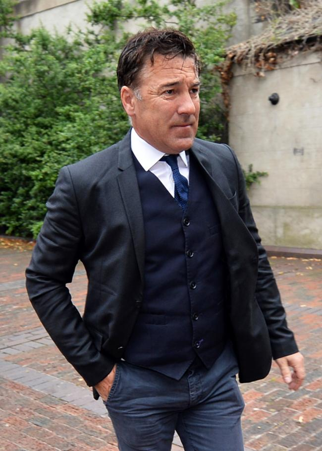 File photo dated 28/8/2019 of former Liverpool striker Dean Saunders who will apply for bail, one day into a 10-week jail sentence for failing to give traffic police a breath specimen. PRESS ASSOCIATION Photo. Issue date: Thursday August 29, 2019. See PA