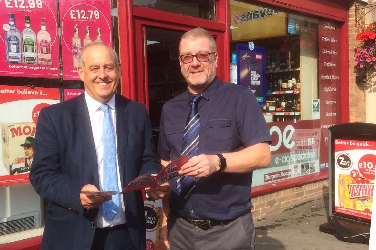 Bargain Booze Retailer Hosts Store Visit with David Hanson MP