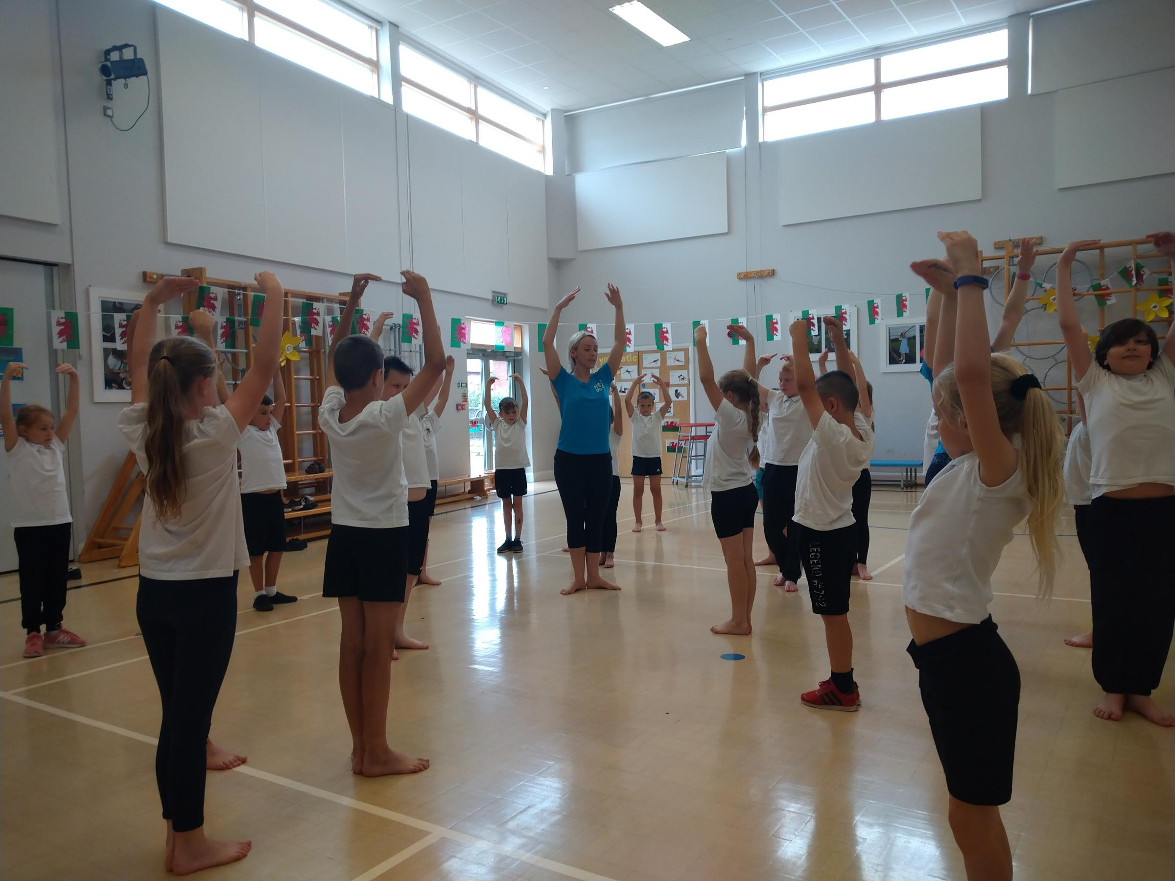 Shotton schoolchildren thrilled to be chosen for dance scheme