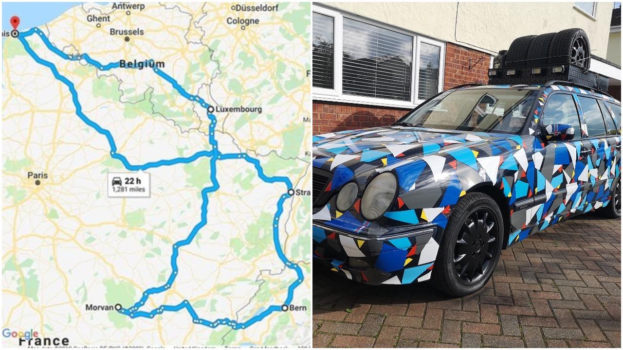 Ewloe man to drive across western Europe in aid of Parkinson's UK