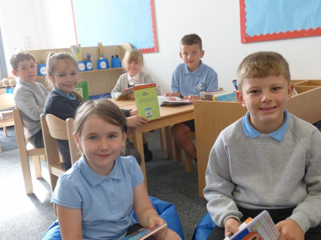 From left: Henry Hatton, Naomi Hope, Olivia Beattie, Meghan Fletcher, Oliver Szawin and Finley Satti.