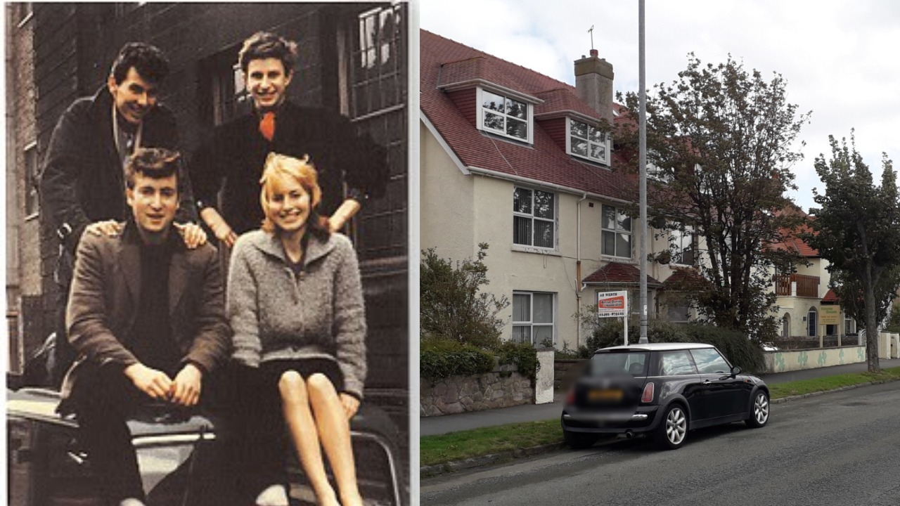 Hello, Goodbye! American family sell North Wales house that once played host to the Beatles