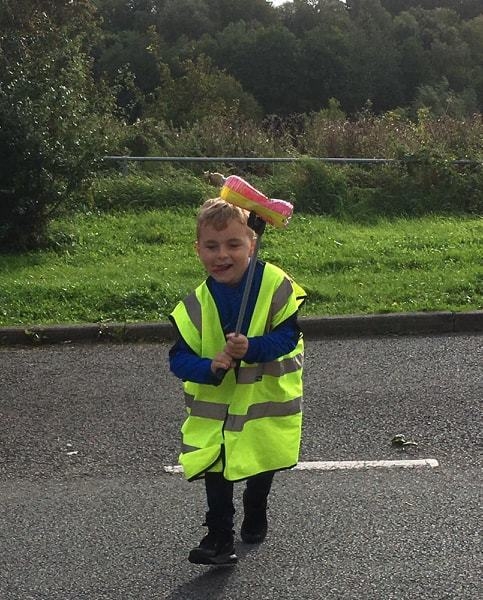 Wrexham boy does his bit to save the environment