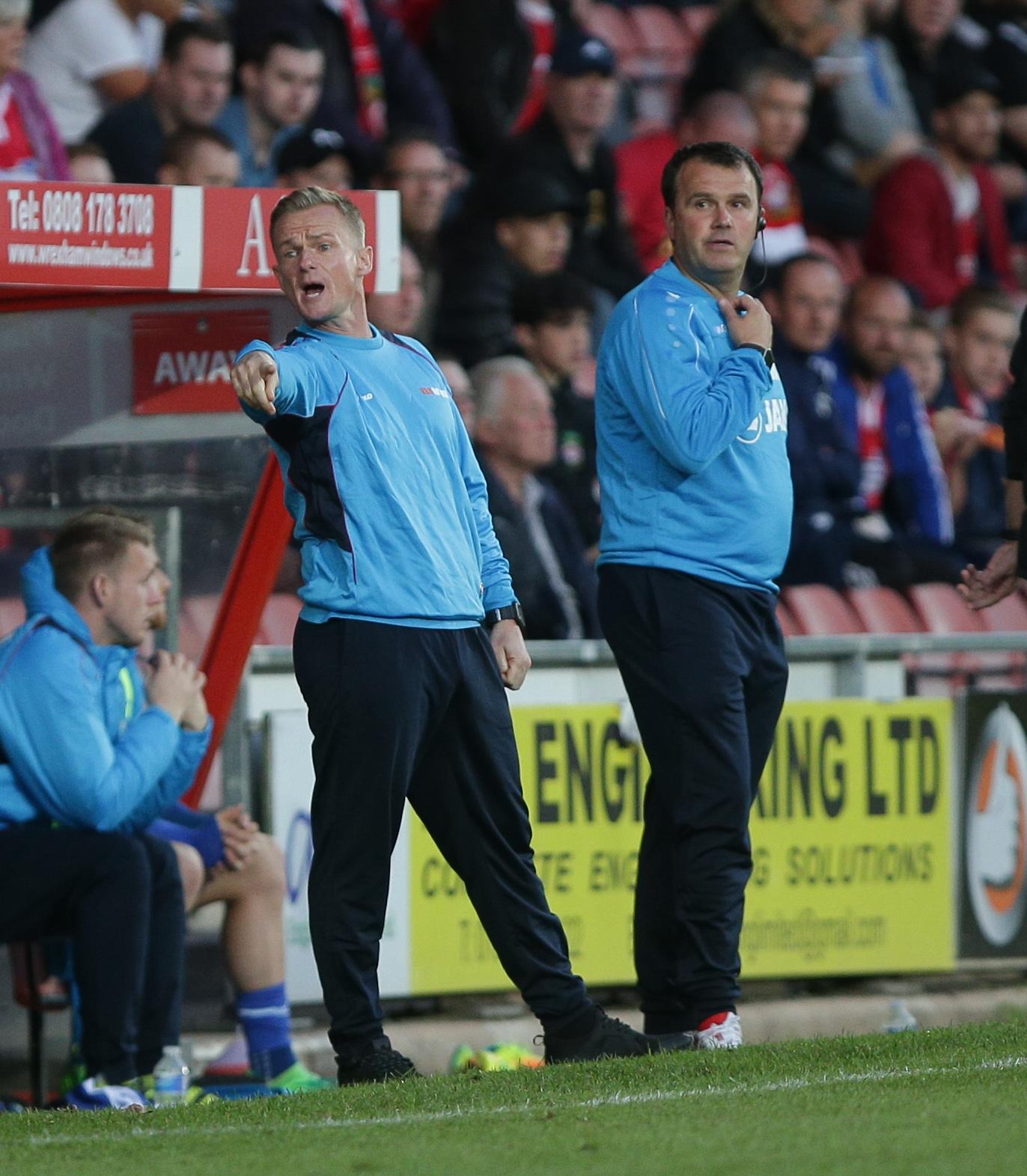 Live: Wrexham AFC v Harrogate Town - National League