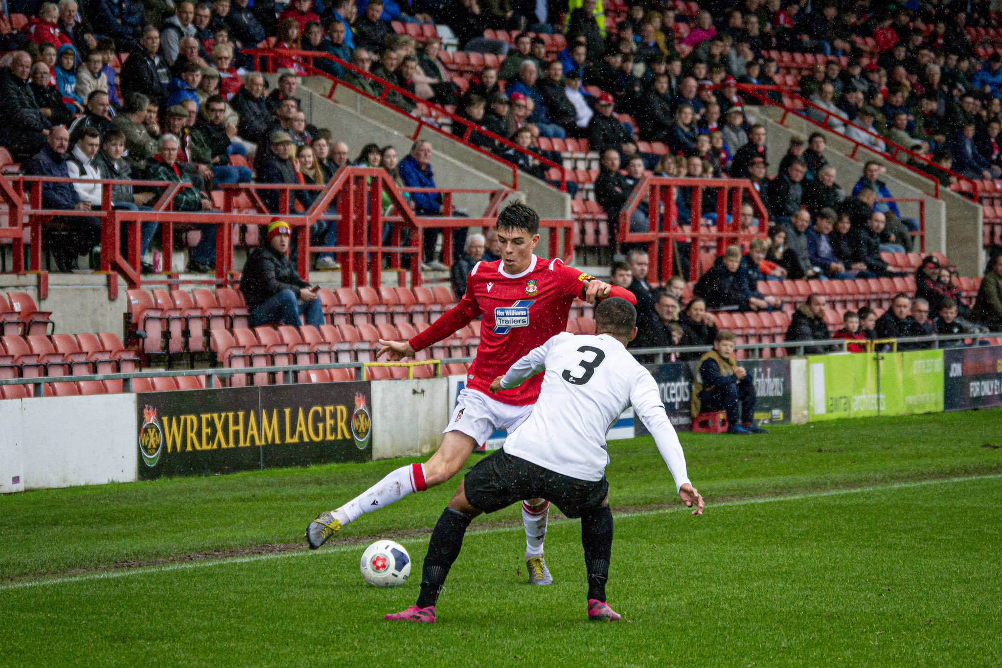 Wrexham AFC away at either Solihull Moors or Rangers Colts in Scottish Challenge Cup quarter-finals