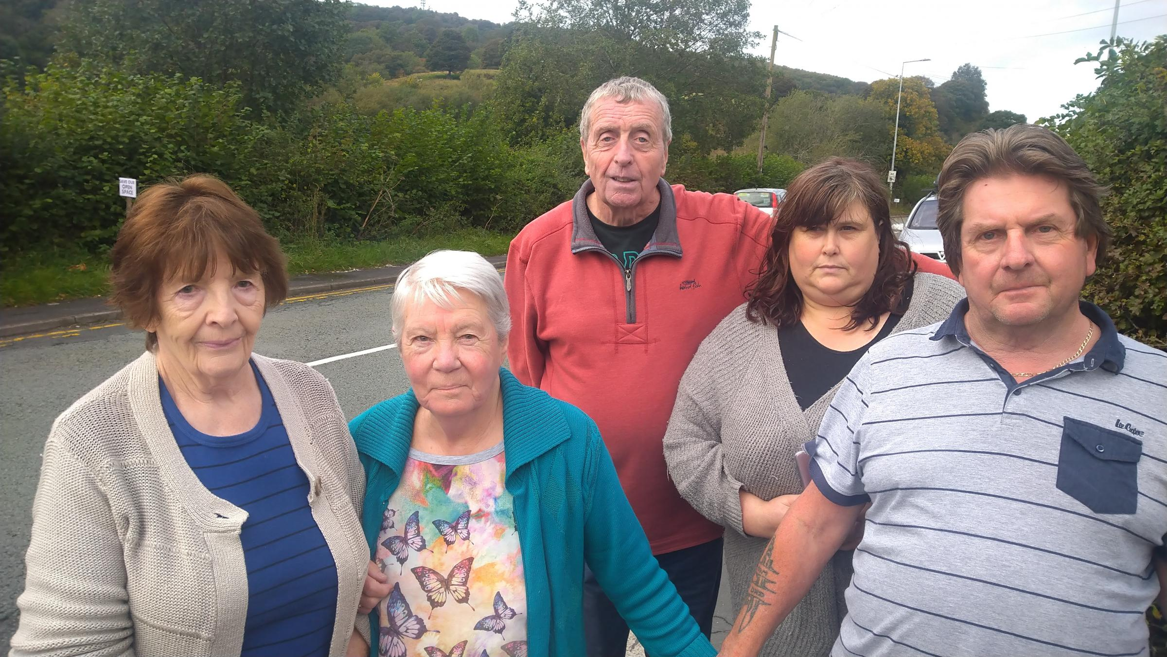 Residents continue to make a stand against development of Abermorddu field