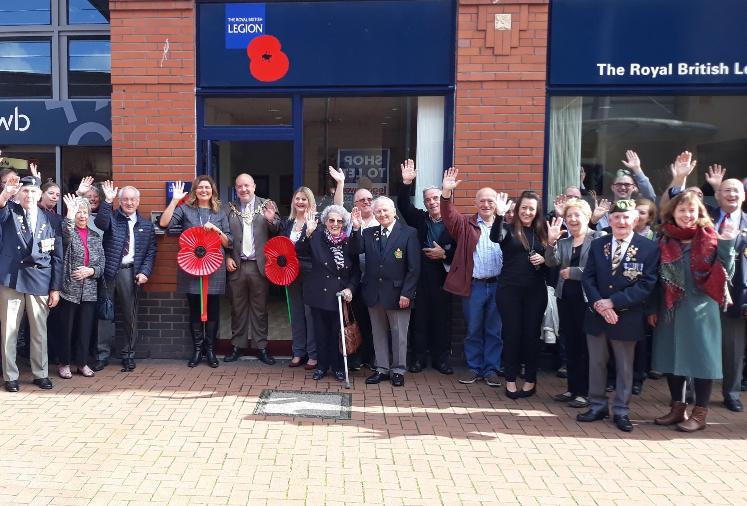 Royal British Legion Connect launches in Wrexham