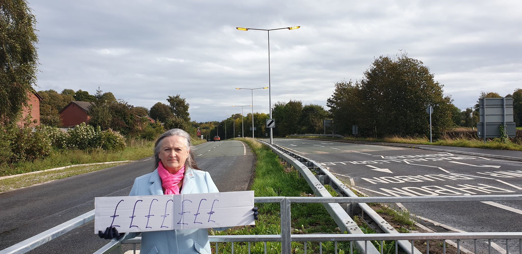 Ruabon resident blasts council over street lights left on 24 hours a day