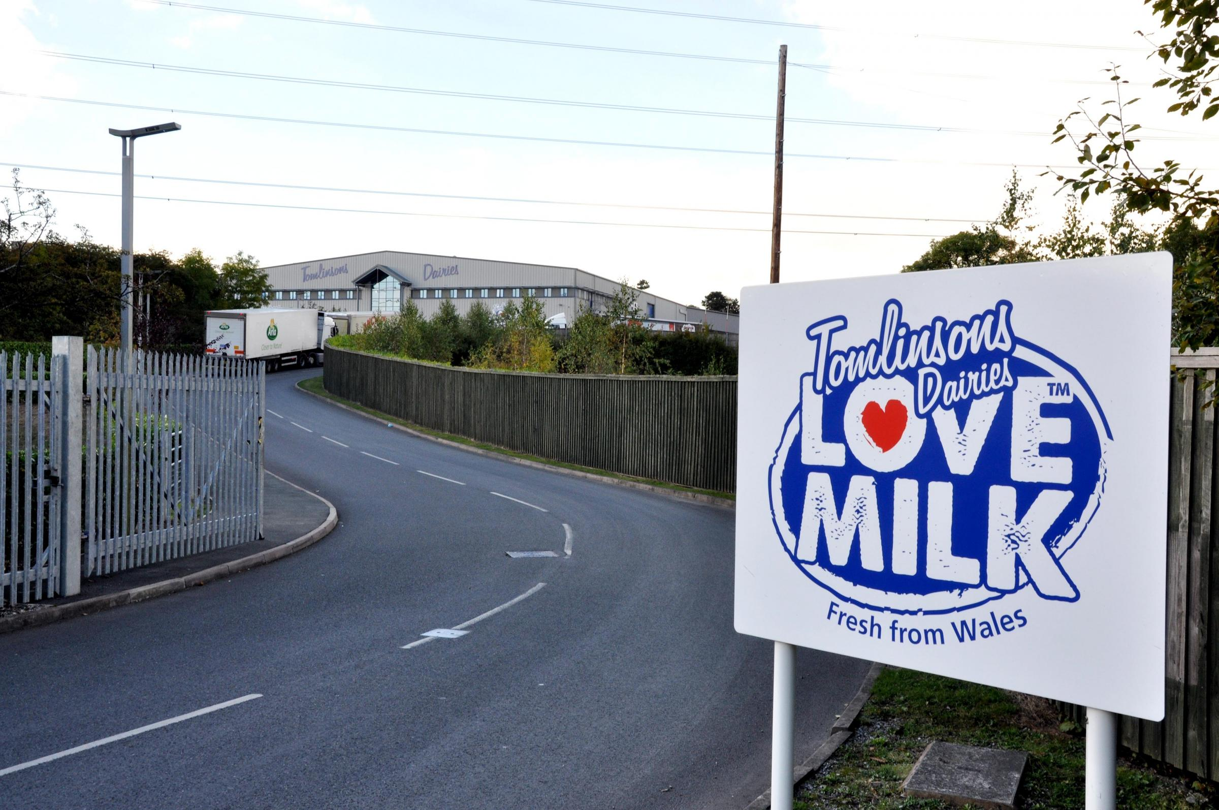 Farmers angry and worried after Wrexham dairy firm stops taking milk