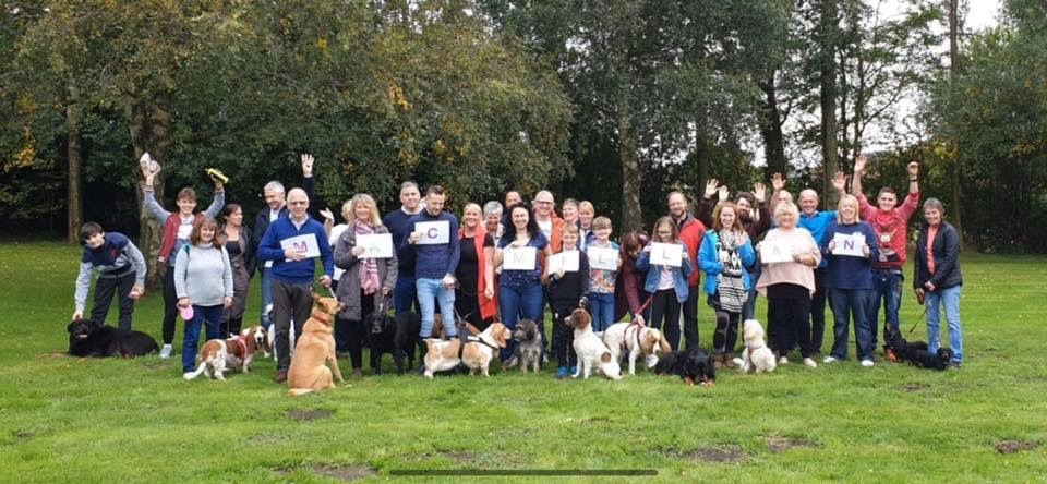 Dog daycare business in Mold raises hundreds hundreds of pounds for charity
