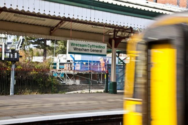 Wrexham General train station