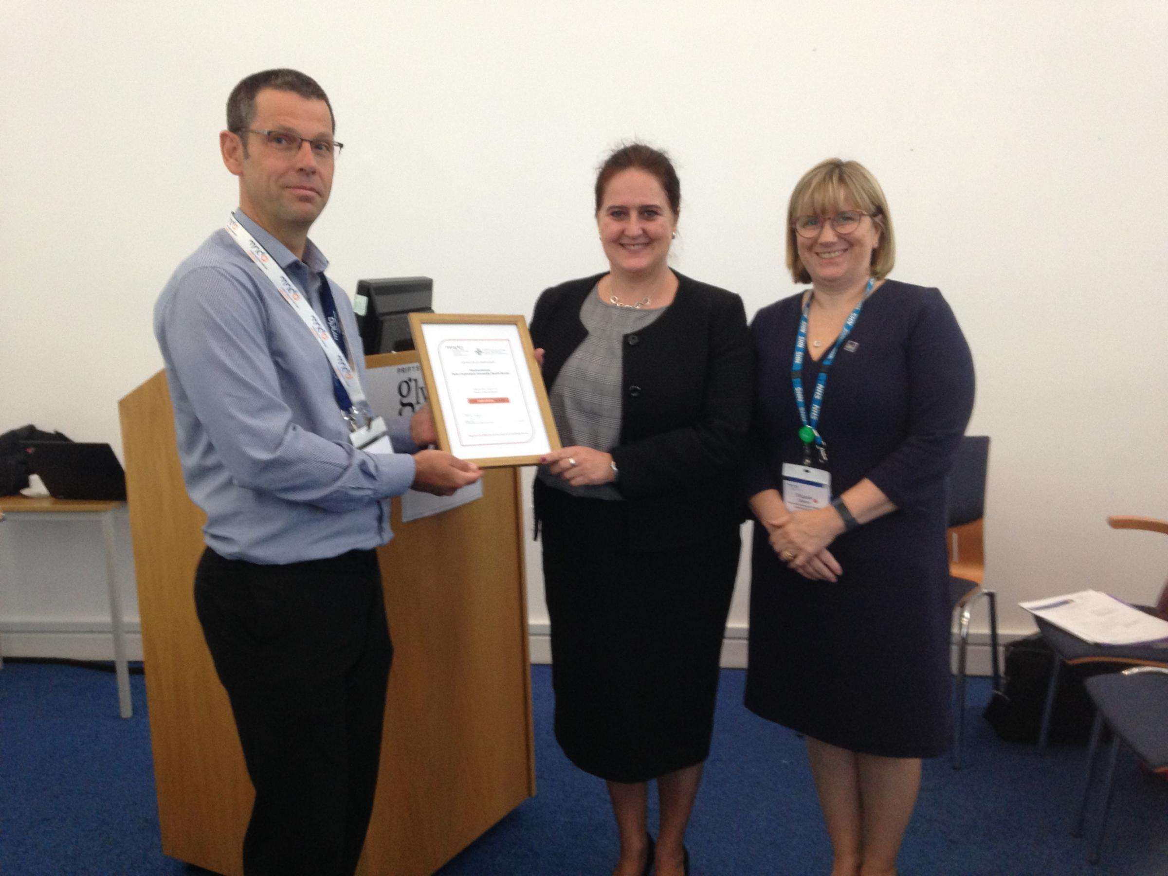 Celebrating successful partnership working to improve services for people in North Wales