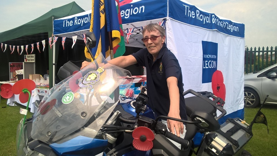 Legion riders to kick start 2019 North Wales Poppy Appeal