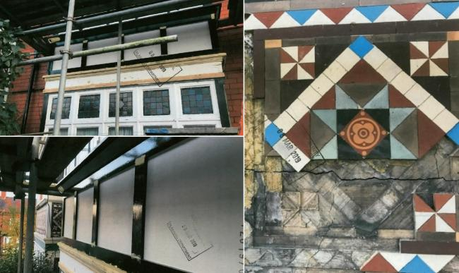 Kathleen Jones said her son started work to repaint the property on Ruabon Road in October 2018, during which he discovered the tiles were falling apart. Source: Planning document