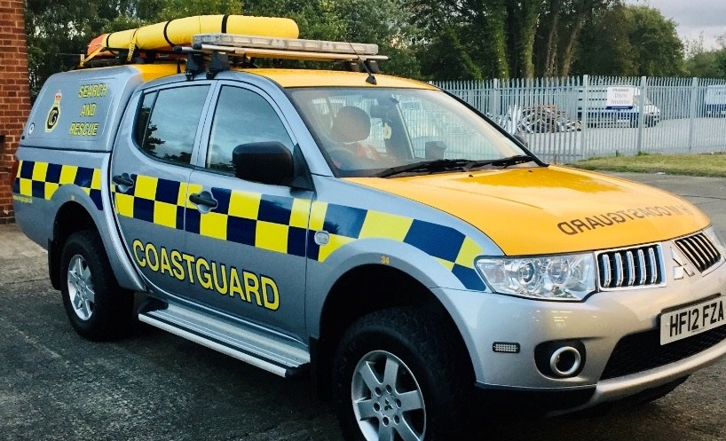 Flint coastguard team called out to help after person falls on beach