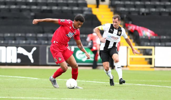 Wrexham AFC midfielder Devonte Redmond hopes he had done enough to earn a starting place