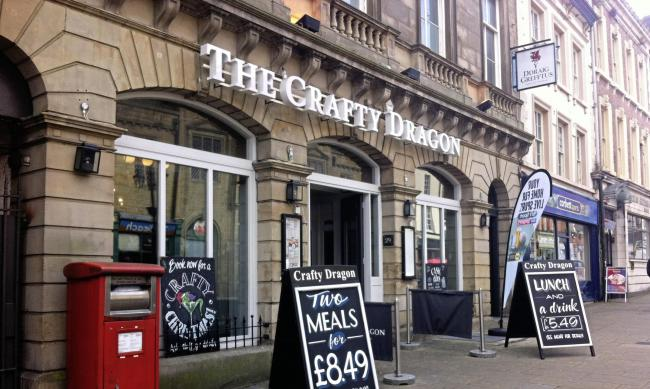 Library image of Crafty Dragon pub in Wrexham