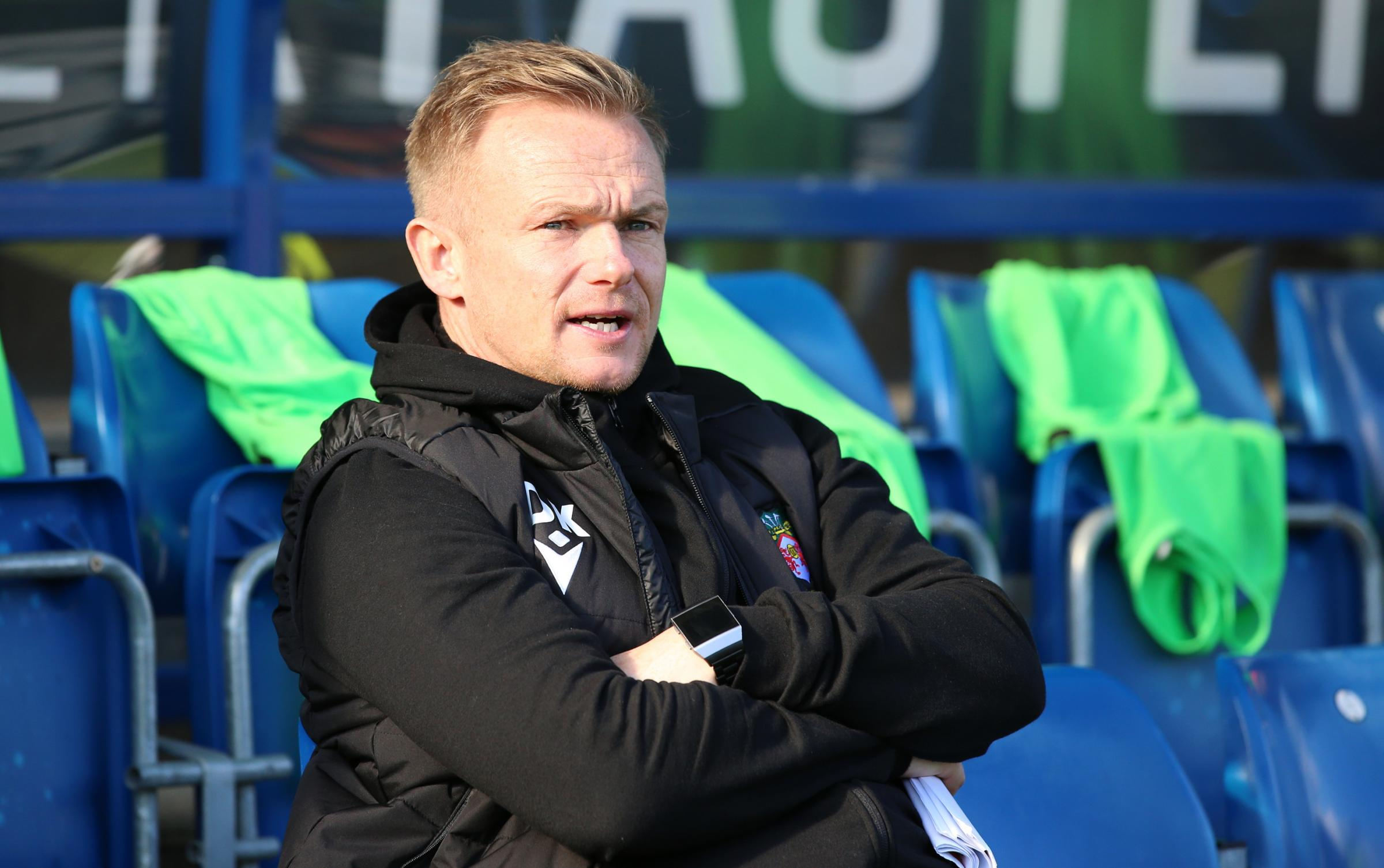 Wrexham AFC manager Dean Keates says players need to deal with the high expectations