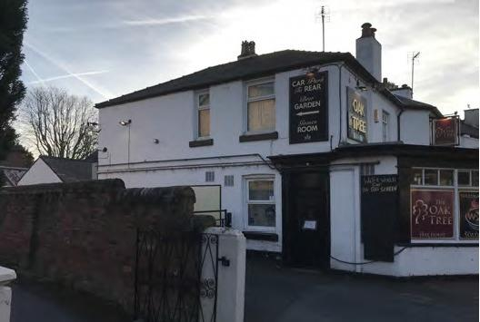 Proposals have been entered to turn the Oak Tree Inn on Ruabon Road in Wrexham into a total of six new homes. Source: Planning document