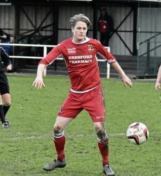 Gresford Athletic's Jack Chaloner.