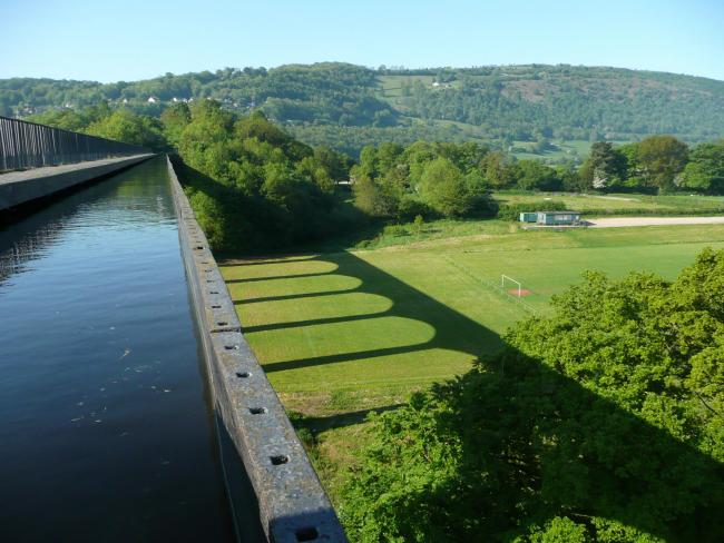 Pontcysyllte Aqueduct - Crossing Telford's Stream in the sky. Picture: Ian Chesterman