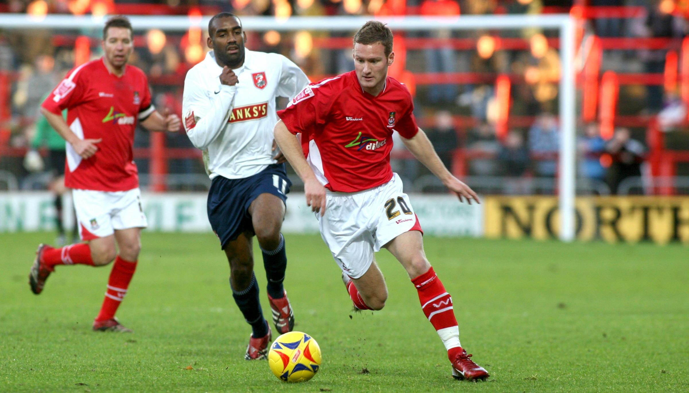 Former Wrexham AFC winger Matty Done is going back to where it all began