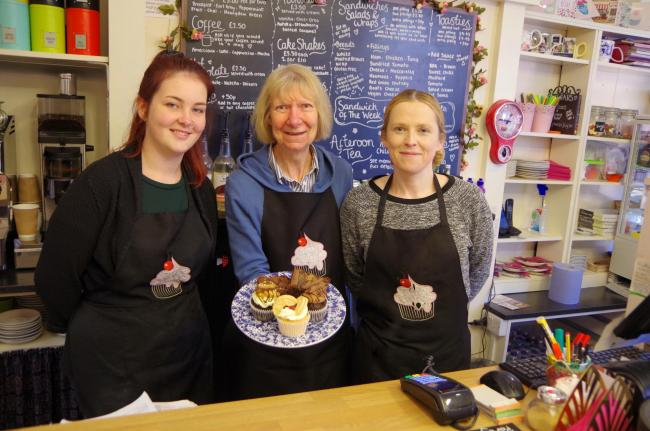 Left to right EmzCakes: Fiona McHugh, Joan Wilson and Danni Edwards