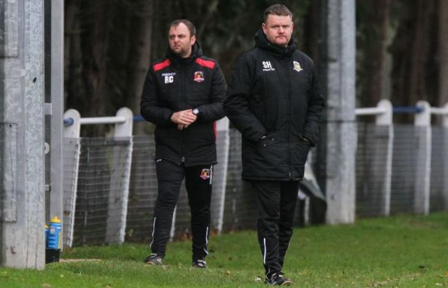FOCUSED: Gresford boss Steve Halliwell
