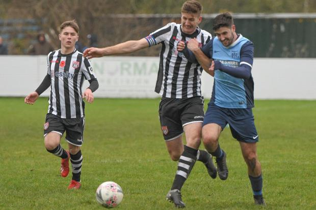 ACTION: Flint Town defeated Greenfield in round two on Saturday. Picture: LEE DOUGLAS